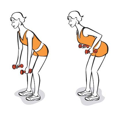 bent over exercise stay fit dr manish psychiatrist